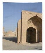 Towers Of Silence. Yazd, Iran Fleece Blanket