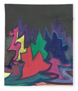 Trick Or Treat Fleece Blanket
