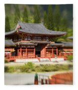 Valley Of The Temples Fleece Blanket