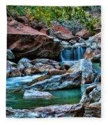 Virgin River Zion  Fleece Blanket