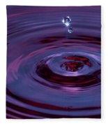 Water Drop Fleece Blanket