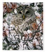 What A Hoot Fleece Blanket