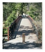 Whiskeytown National Recreation Area Fleece Blanket