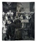 White House: State Dinner Fleece Blanket