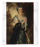 William Crowninshield Endicott Fleece Blanket