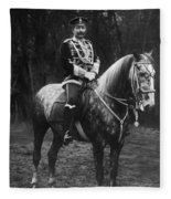 William II Of Germany Fleece Blanket