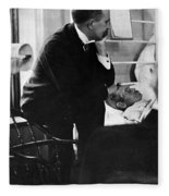 William Osler, Canadian Physician Fleece Blanket