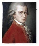 Wolfgang Amadeus Mozart Fleece Blanket