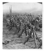 World War I: U.s. Troops Fleece Blanket