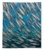 Yellowfin Goatfish Fleece Blanket