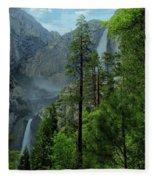 Yosemite Falls Fleece Blanket