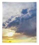 2nd Storm Chase 2015 Fleece Blanket