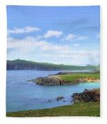 Dingle Peninsula - Ireland Fleece Blanket