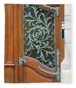 French Doors Fleece Blanket
