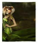 Model Fleece Blanket