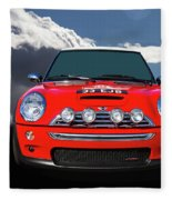 2004 S Mini Cooper Fleece Blanket