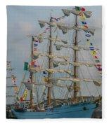 2004 Tall Ships Fleece Blanket