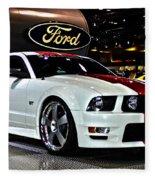 2006 Ford Mustang No 1 Fleece Blanket