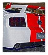 2006 Ford Mustang No 2 Fleece Blanket