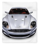 2009 Aston Martin Dbs Fleece Blanket