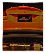 2009 Chicago Auto Showdodge Circuit Ev No 2 Fleece Blanket