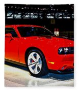 2009 Dodge Challenger Number 2 Fleece Blanket