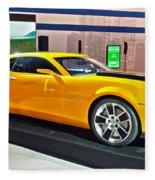 2010 Chevrolet Camaro Fleece Blanket