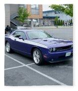 2010 Dodge Challenger Rt Lyster Fleece Blanket