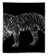 Tigers Gait Fleece Blanket