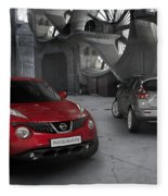 2011 Nissan Juke 4 Fleece Blanket
