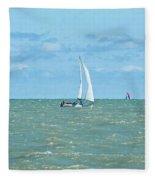 2012 08 11 Chicago Dsc_1630 Fleece Blanket