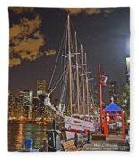 2012 08 12 Chicago Dsc_0342 Fleece Blanket