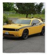 2012 Dodge Challenger Rt Clark Fleece Blanket