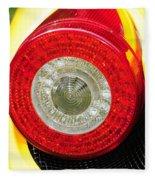 2012 Ferrari 458 Spider Brake Light Fleece Blanket