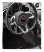 2012 Mc Laren Steering Wheel Fleece Blanket