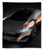 2012 Peugeot Onyx Concept Fleece Blanket
