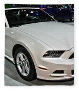 2013 Ford Mustang No 1 Fleece Blanket
