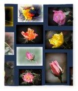 2014-03-16 - Rose Fleece Blanket