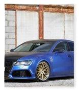 2014 Mr Racing Audi A7 Sportback 3tdi Fleece Blanket