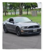 2014 Mustang Kindel Fleece Blanket