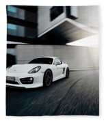 2014 Techart Porsche Cayman Fleece Blanket