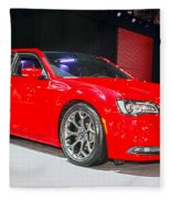 2015 Chrysler 300 Sport Fleece Blanket