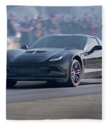 2015 Corvette Z06 Coupe Fleece Blanket
