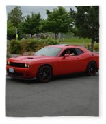 2015 Dodge Challenger Scat Pack Harper Fleece Blanket