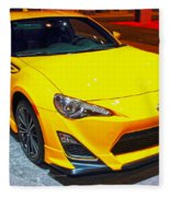 2015 Scion Fr-s Number 2 Fleece Blanket