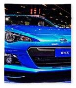 2015 Subaru Brz Fleece Blanket