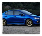 2015 Subaru Wrx Sti Fleece Blanket