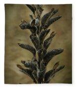 2016 Horicon Marsh - Seed Pods Unfurled Fleece Blanket