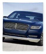 2016 Lincoln Continental Concept Fleece Blanket