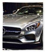 2016 Mercedes-amg Gts No 1 Fleece Blanket